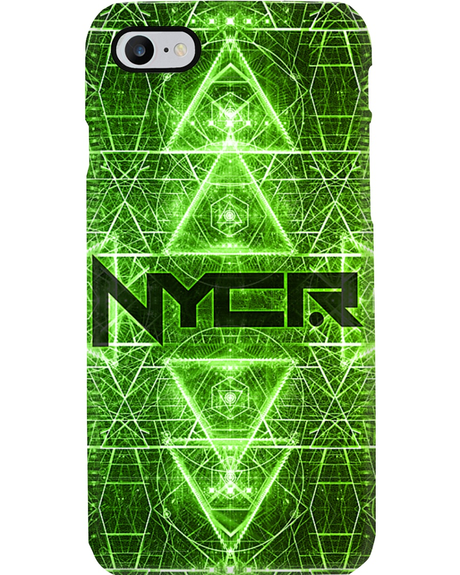 Rave Matrix Green Phone Condom Phone Case