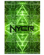 Rave Matrix Green Phone Condom Vertical Poster tile