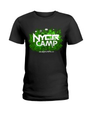 NYCR Camp Forest Design Ladies T-Shirt thumbnail