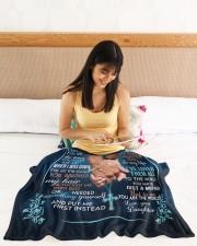 "To My Mom Sherpa Fleece Blanket Small Fleece Blanket - 30"" x 40"" aos-coral-fleece-blanket-30x40-lifestyle-front-12a"