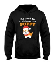 All i want for christmas is a puppy shirt gift Hooded Sweatshirt thumbnail
