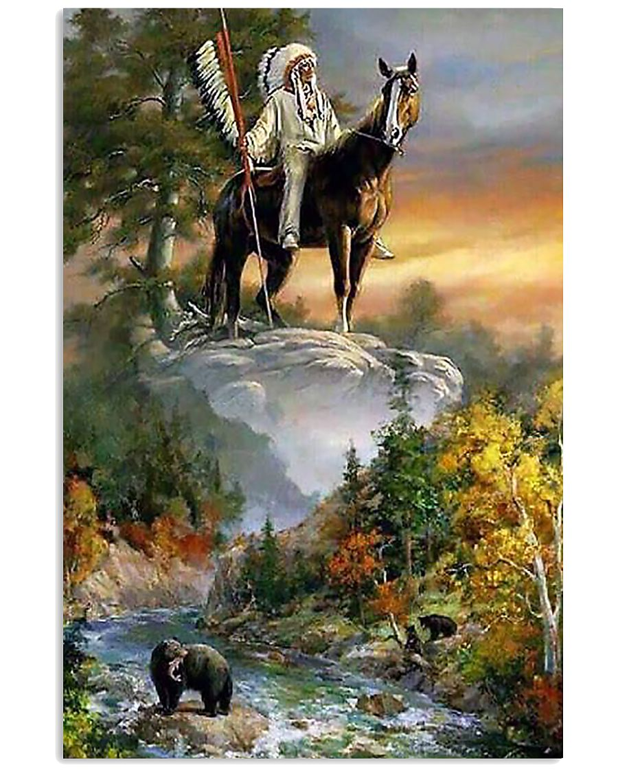 Exclusive Native American Poster 11x17 Poster