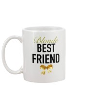 Blonde Best Friend Ribbon tees Mug back