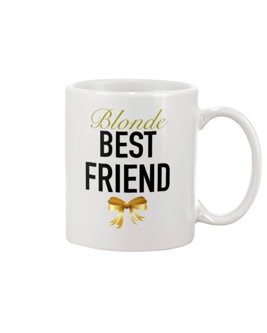 Blonde Best Friend Ribbon tees Mug