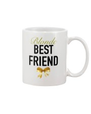 Blonde Best Friend Ribbon tees Mug front