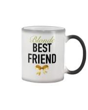 Blonde Best Friend Ribbon tees Color Changing Mug thumbnail