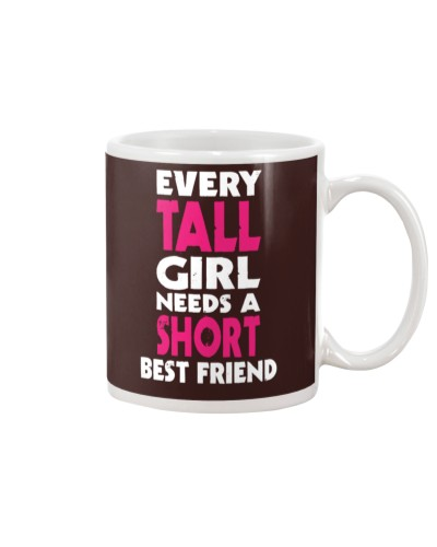 TALL GIRL SHORT GIRL BFF tees 2