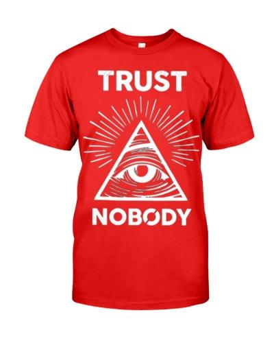 April Fools Day Illuminati trust nobo tee