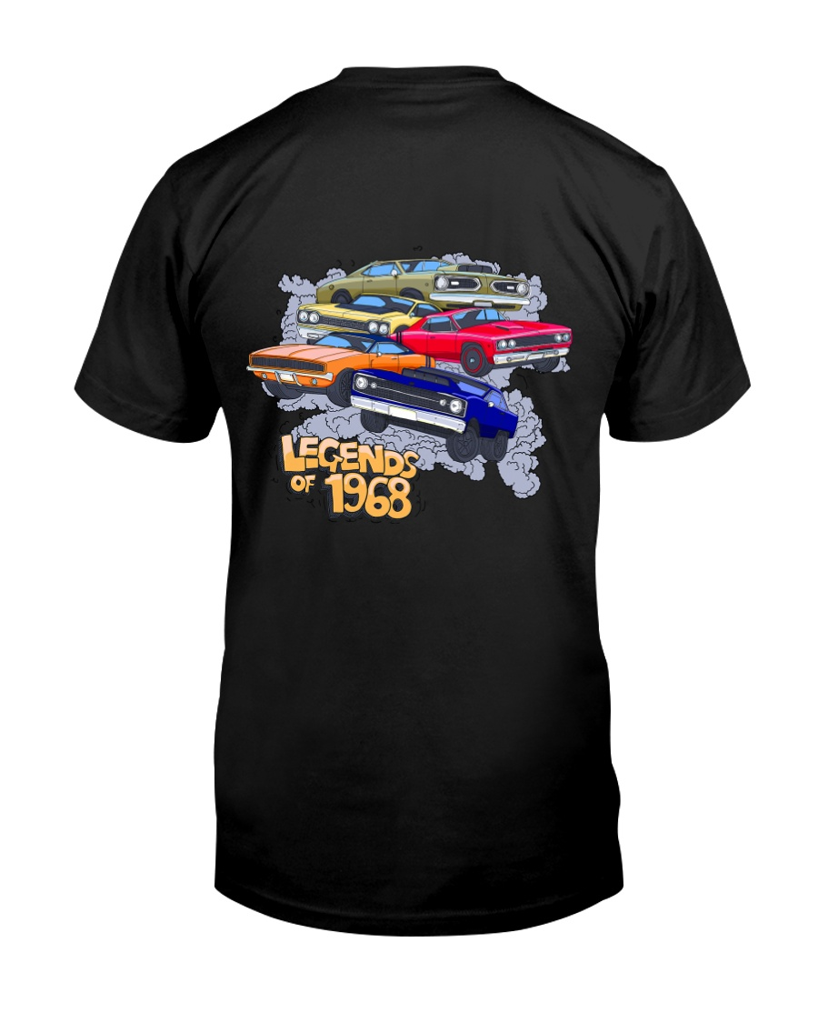Legends of 1968 Premium Fit Mens Tee