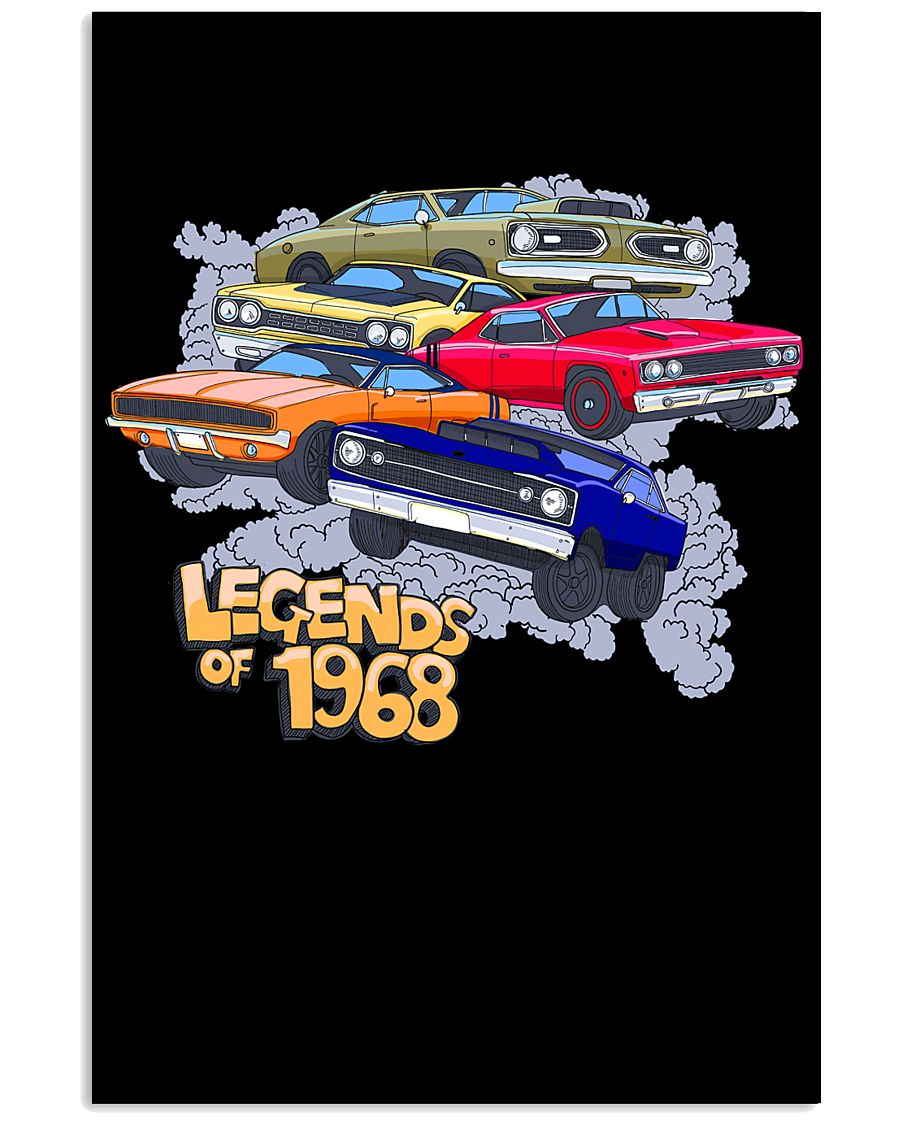 Legends of 1968 11x17 Poster