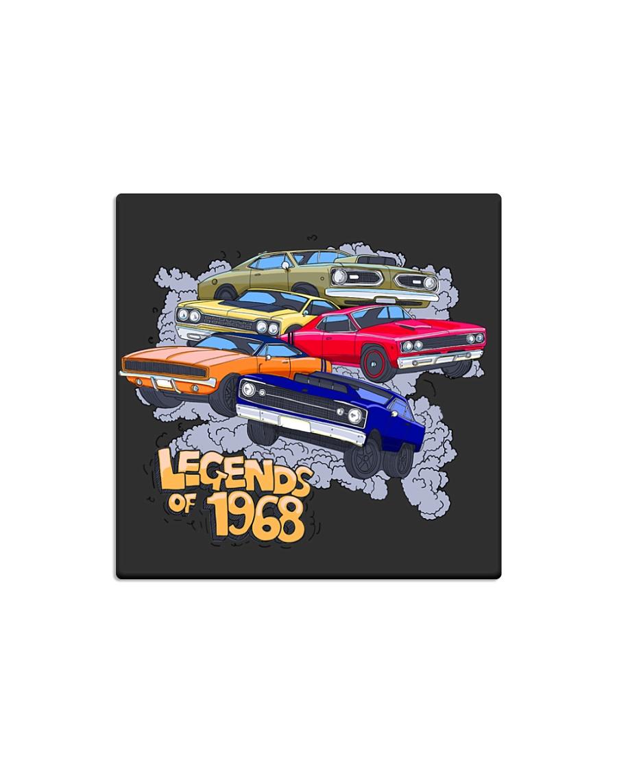 Legends of 1968 Square Magnet