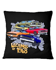 Legends of 1968 Square Pillowcase back