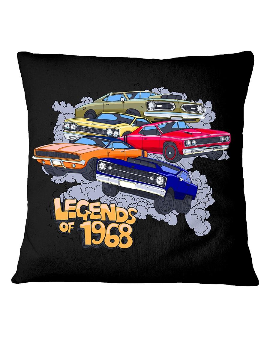 Legends of 1968 Square Pillowcase