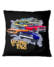 Legends of 1968 Square Pillowcase thumbnail