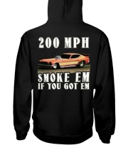 Nostalgia Top Fuel Funny Car Drag Racing Hooded Sweatshirt back