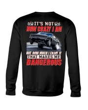 Race Hard or Go Home Crewneck Sweatshirt back