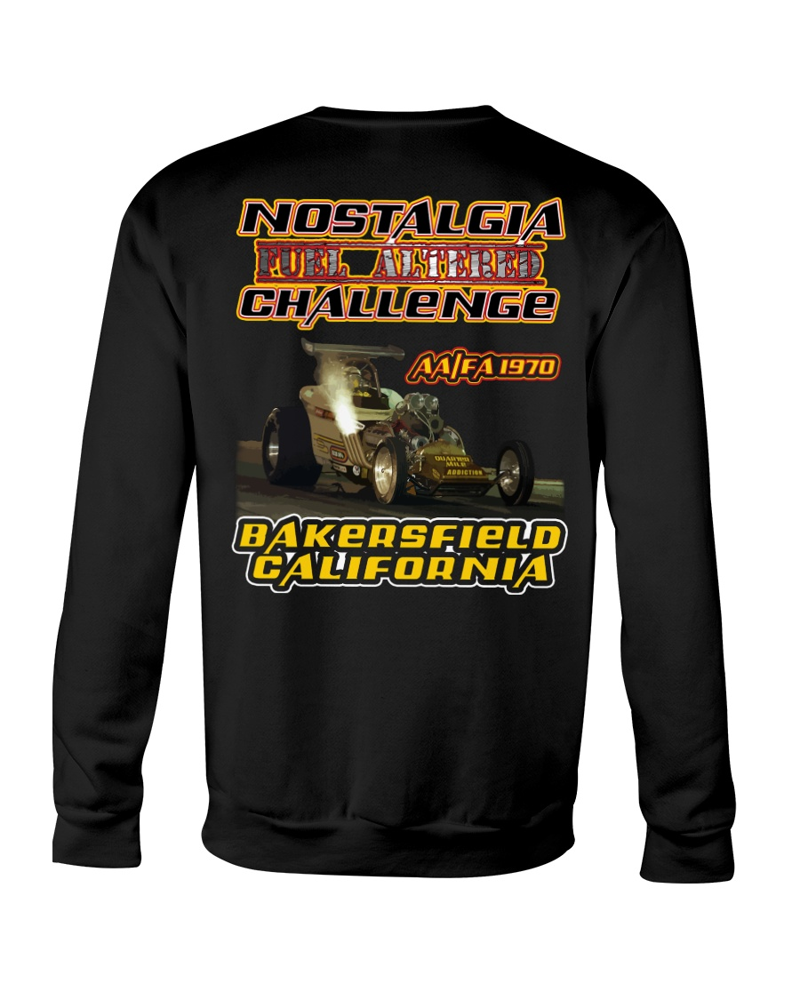 Nostalgia Fuel Altered Nitro World Challenge Shirt Crewneck Sweatshirt