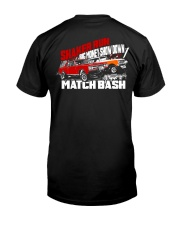 Shaker Run Big Money Showdown Match Bash Premium Fit Mens Tee back