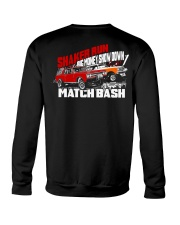 Shaker Run Big Money Showdown Match Bash Crewneck Sweatshirt tile