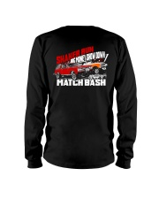 Shaker Run Big Money Showdown Match Bash Long Sleeve Tee tile