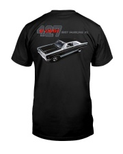 1967 Ford Fairlane 500XL 427 R Code Premium Fit Mens Tee back