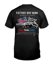 Factory Hot Rods Wheel Up Action Premium Fit Mens Tee back