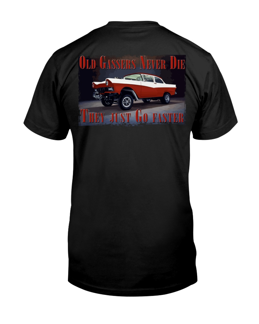 Vintage Hot Rod Gasser Drag Racing T Shirts Premium Fit Mens Tee