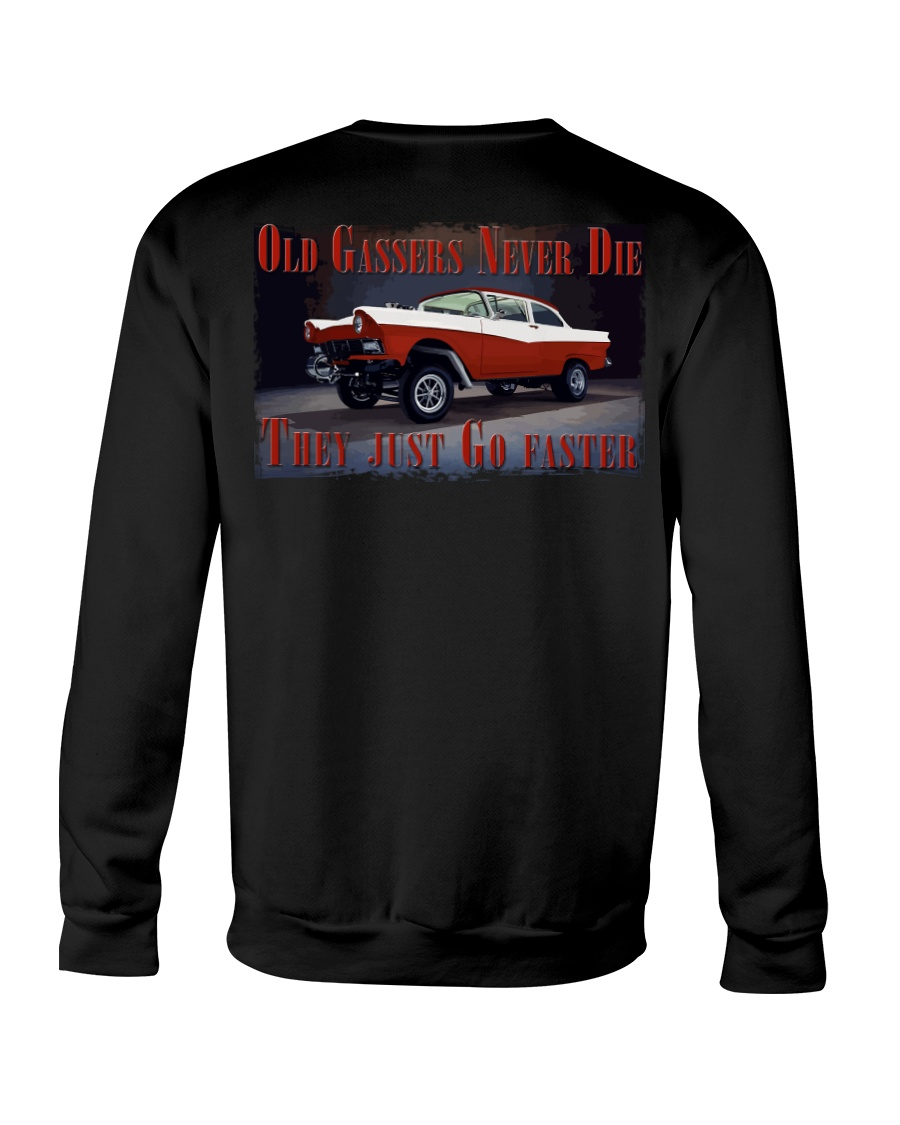Vintage Hot Rod Gasser Drag Racing T Shirts Crewneck Sweatshirt showcase