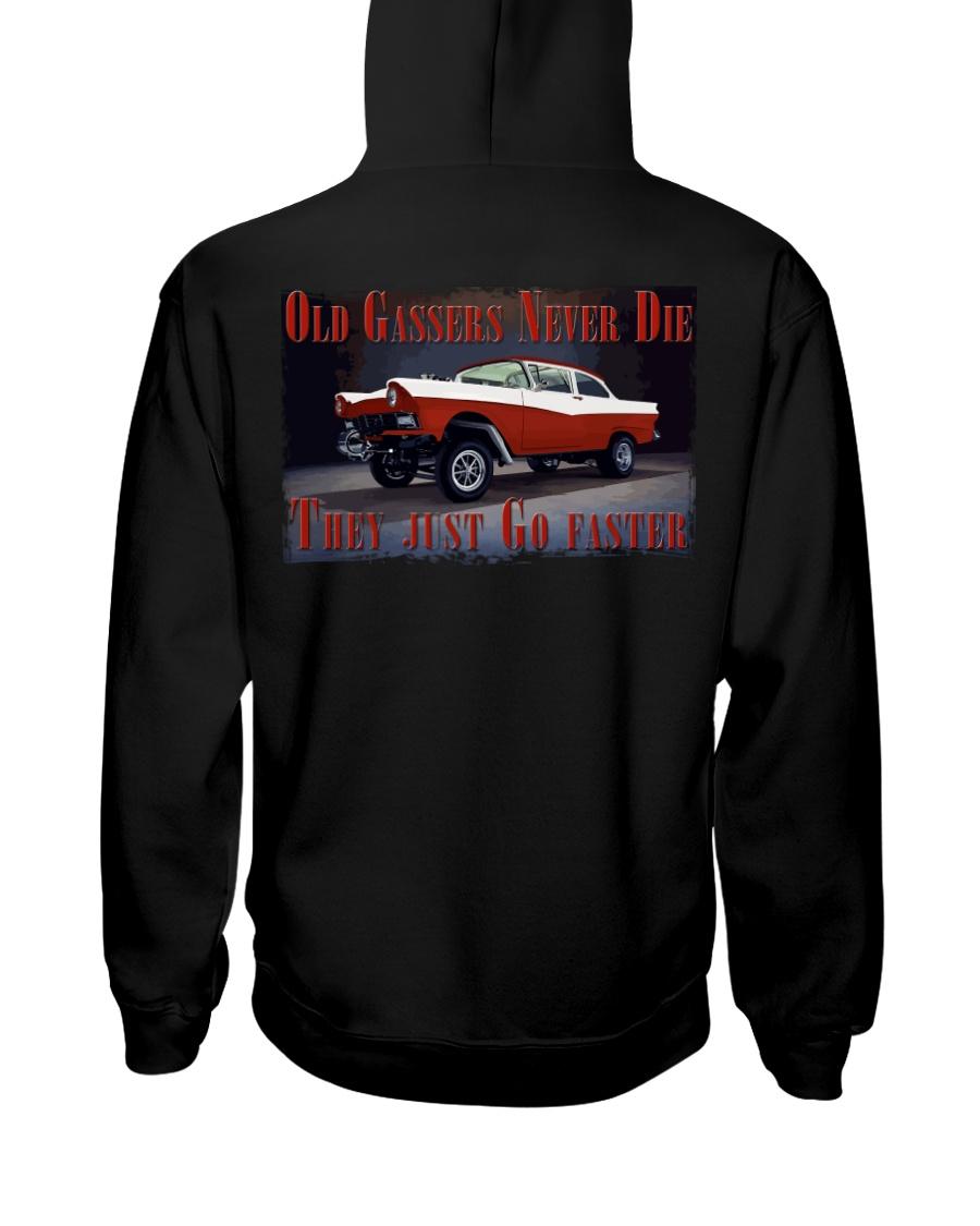 Vintage Hot Rod Gasser Drag Racing T Shirts Hooded Sweatshirt