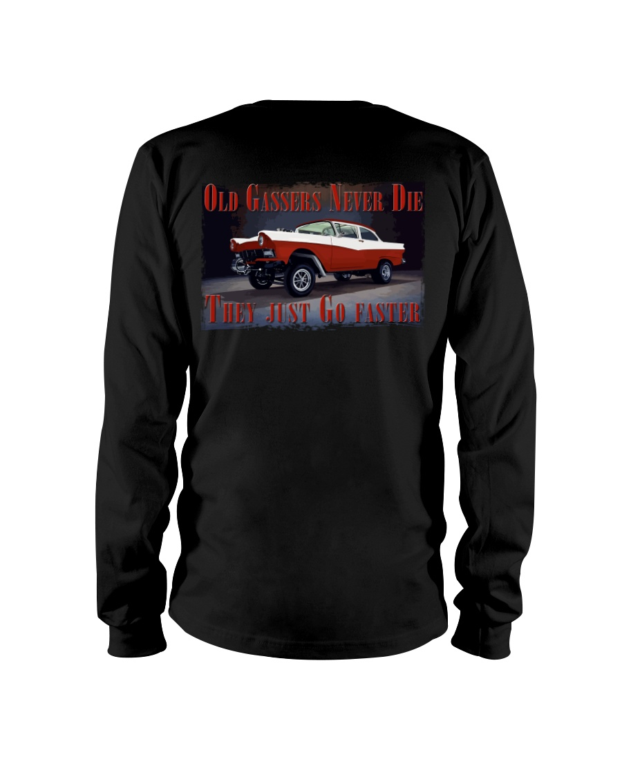 Vintage Hot Rod Gasser Drag Racing T Shirts Long Sleeve Tee showcase