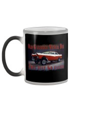 Vintage Hot Rod Gasser Drag Racing T Shirts Color Changing Mug color-changing-left
