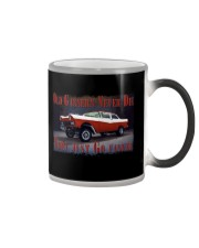 Vintage Hot Rod Gasser Drag Racing T Shirts Color Changing Mug thumbnail