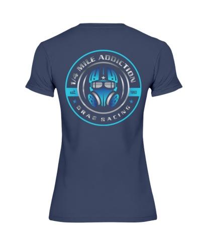 Quarter Mile Addiction Drag Racing T Shirts