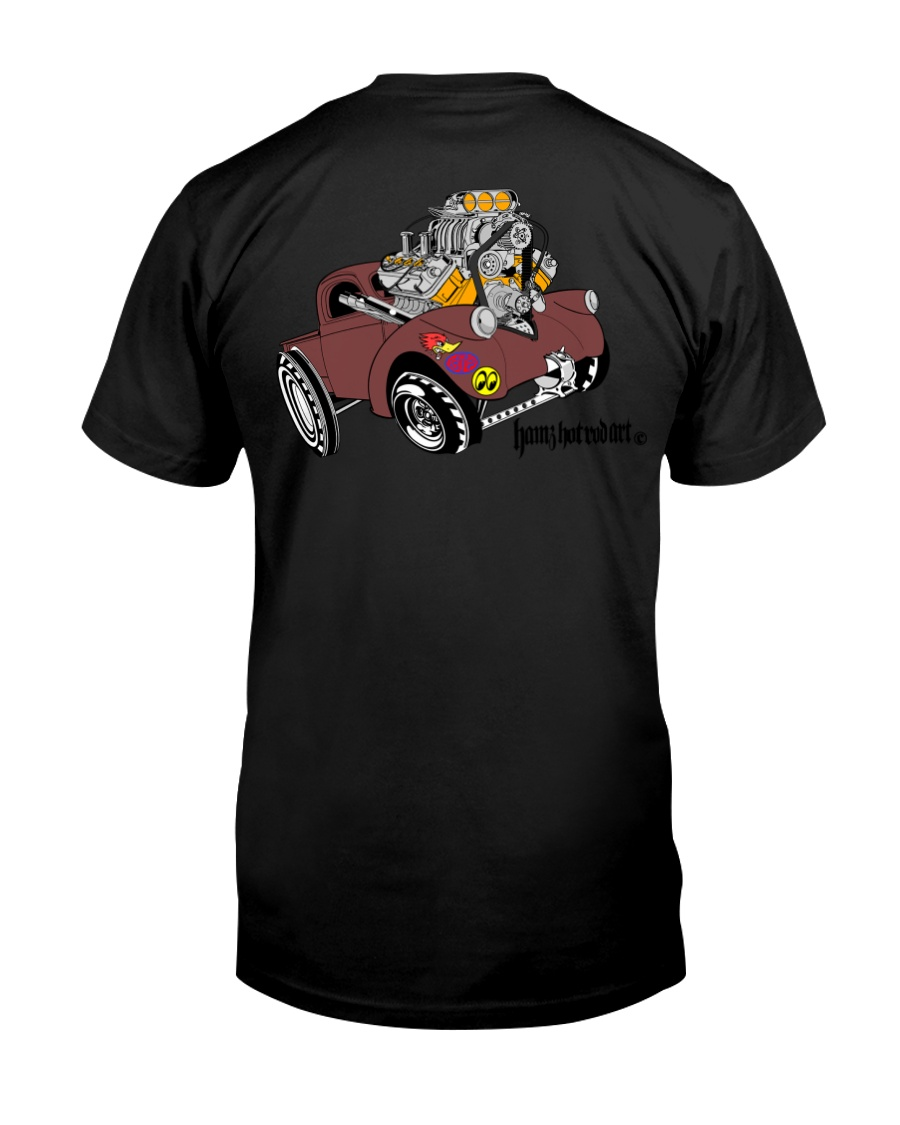 Willy's Pickup Hot Rod Gasser Premium Fit Mens Tee