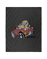 """Willy's Pickup Hot Rod Gasser Quilt 40""""x50"""" - Baby thumbnail"""