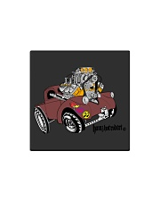 Willy's Pickup Hot Rod Gasser Square Magnet thumbnail
