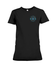 50 years RO-WO package cars 1967 - 2017 Premium Fit Ladies Tee thumbnail