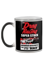 Nostalgia Super Stock Drag Racing T Shirt Color Changing Mug color-changing-left