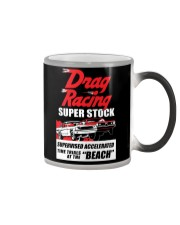 Nostalgia Super Stock Drag Racing T Shirt Color Changing Mug tile