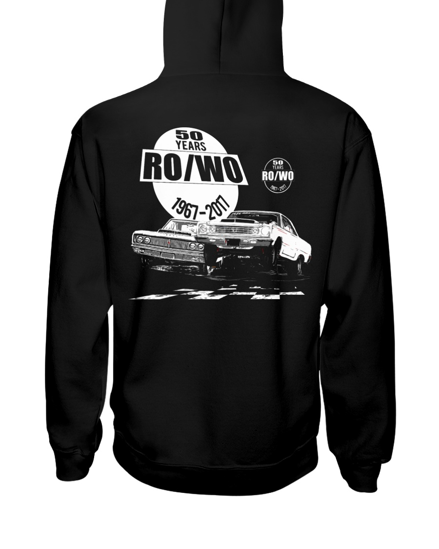 50 Years RO-WO Factory Race Cars Hooded Sweatshirt