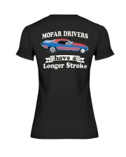 Nostalgia Drag Racing T Shirts Premium Fit Ladies Tee thumbnail