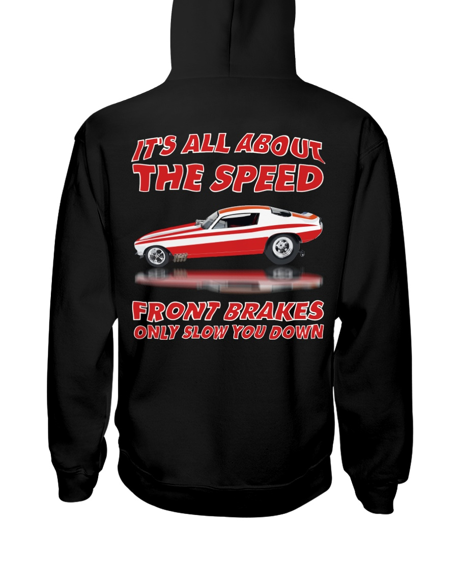 Vintage Nostalgia Nitro Fuel Funny Car Drag Racing Hooded Sweatshirt