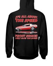 Vintage Nostalgia Nitro Fuel Funny Car Drag Racing Hooded Sweatshirt back