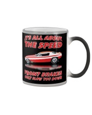 Vintage Nostalgia Nitro Fuel Funny Car Drag Racing Color Changing Mug thumbnail