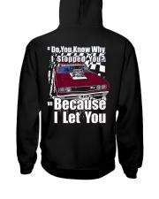 I Can't Drive 55 Hooded Sweatshirt back
