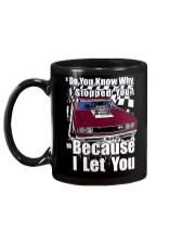 I Can't Drive 55 Mug back