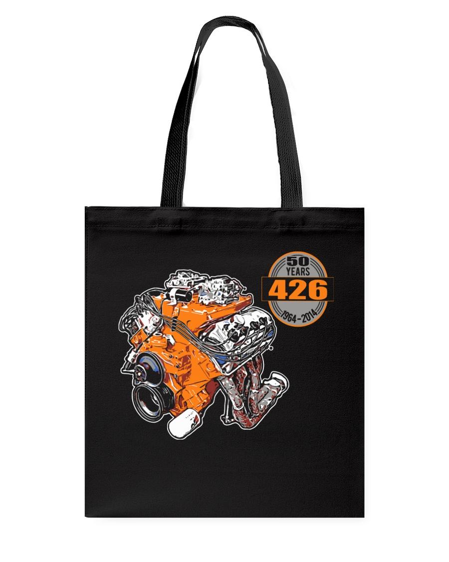 50 years 426 Hemi 1964 - 2014 cross ram Tote Bag