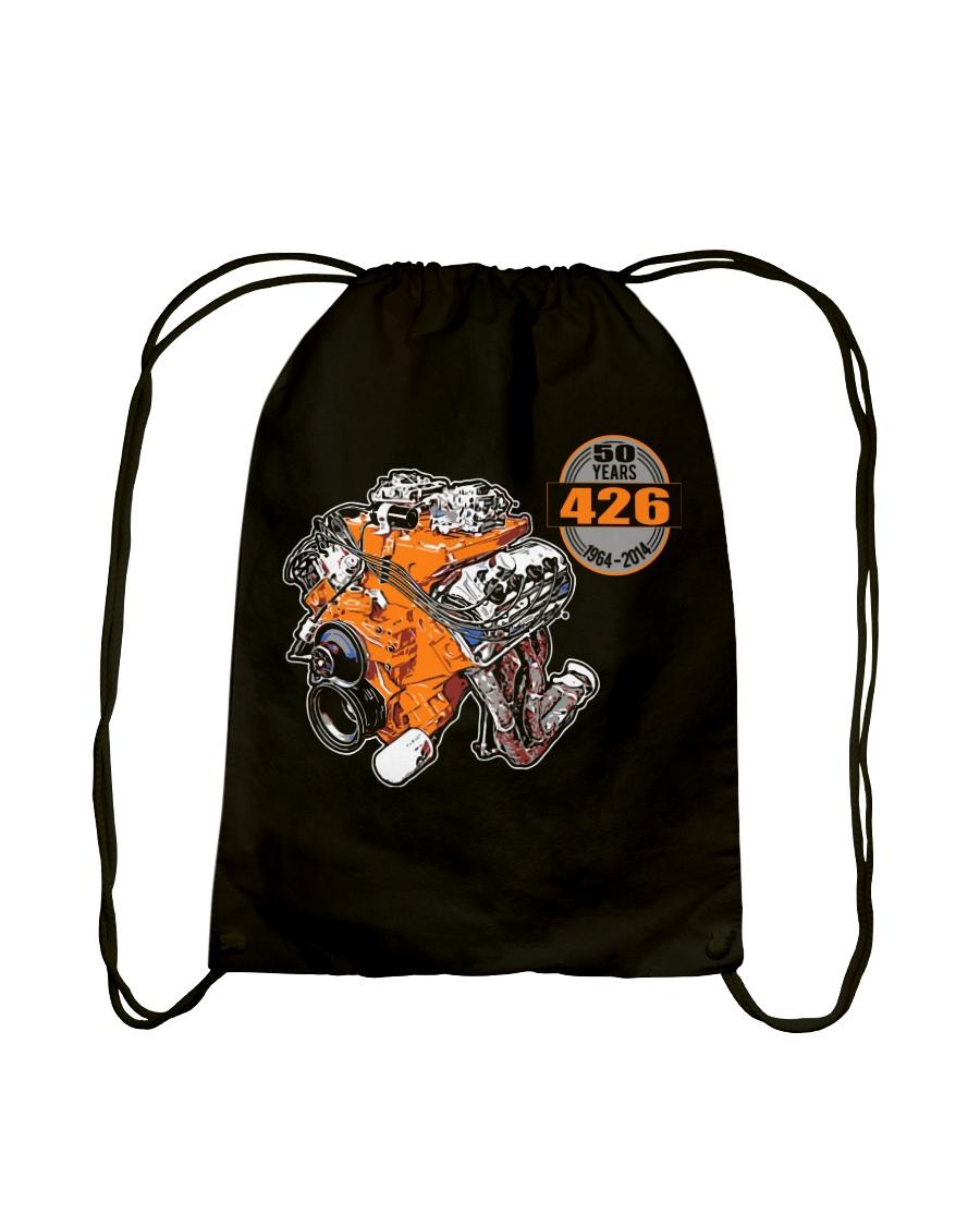 50 years 426 Hemi 1964 - 2014 cross ram Drawstring Bag