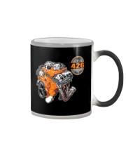 50 years 426 Hemi 1964 - 2014 cross ram Color Changing Mug thumbnail