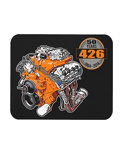 50 years 426 Hemi 1964 - 2014 cross ram